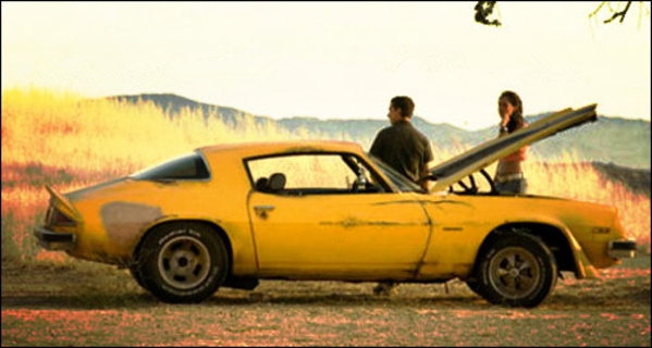 雪佛兰科迈罗因电影《变形金刚》变身超级巨星