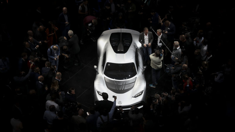 mercedesbenz-amg-project-one-hypercar-stands-on-stage-after-its-the-picture-id845749444.jpg