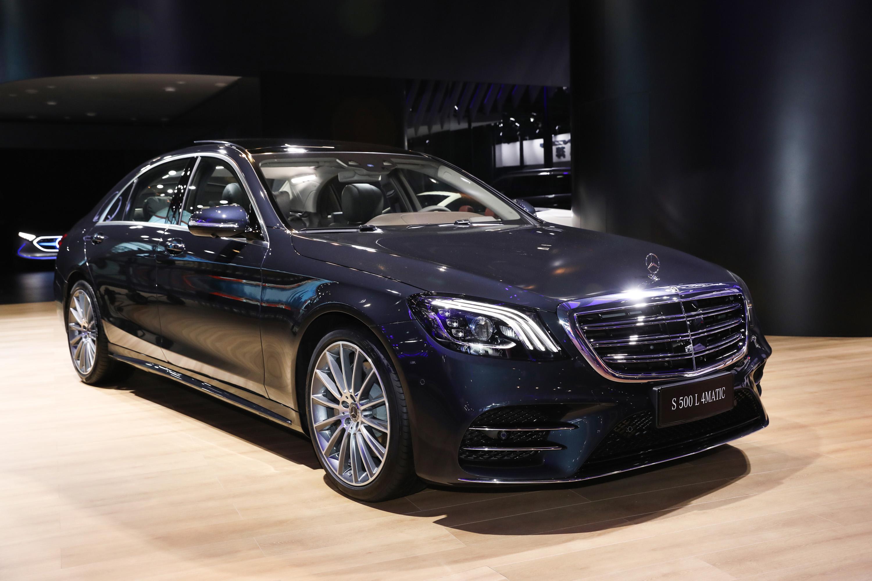 奔驰EQA概念车中国首秀,S级迎来迈巴赫新贵,AMG再升级