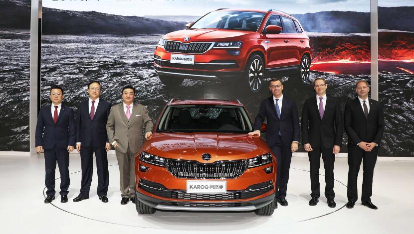 中文名定名柯珞克,斯柯达全新SUV KAROQ广州车展首发