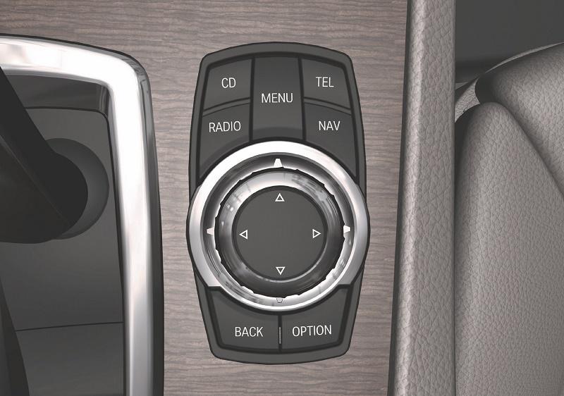 08. 带功能按键的iDrive控制旋钮.JPG